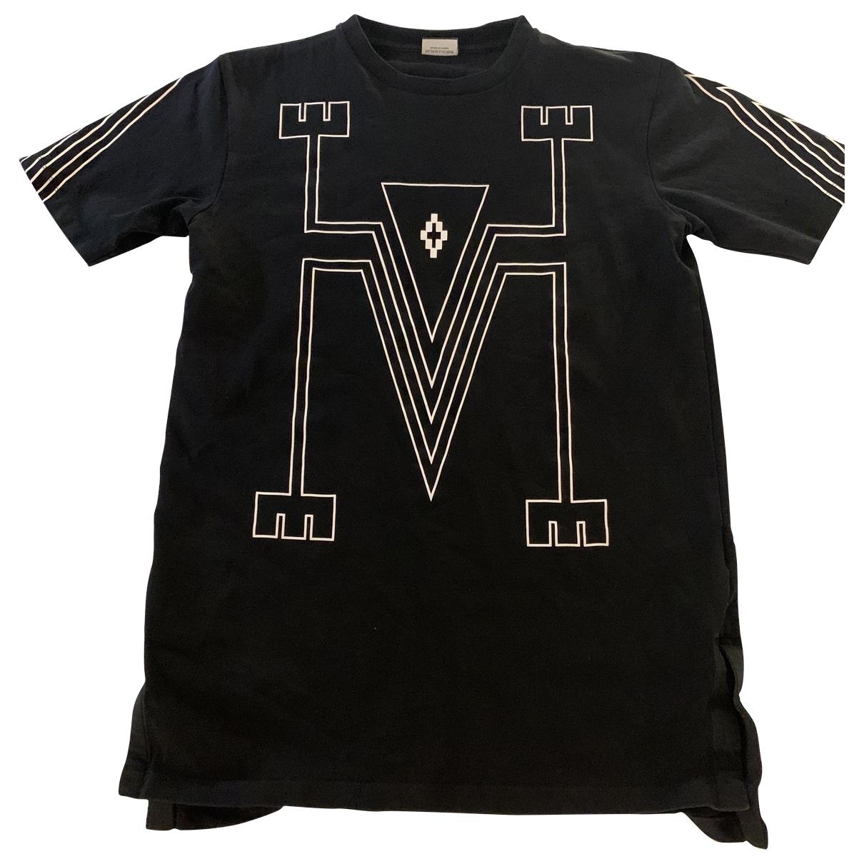 Marcelo Burlon \N Black Cotton T-shirts for Men XS International
