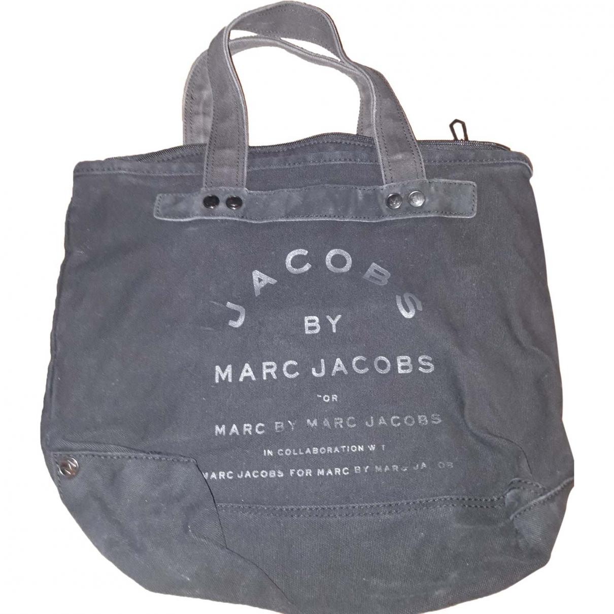 Marc By Marc Jacobs \N Handtasche in  Schwarz Baumwolle
