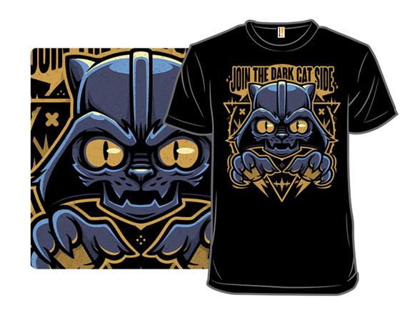 Darkside Cat T Shirt