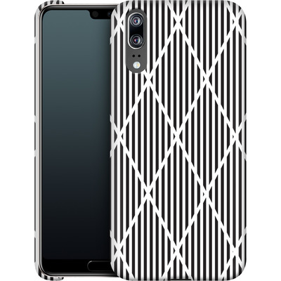 Huawei P20 Smartphone Huelle - Black Diamonds von caseable Designs