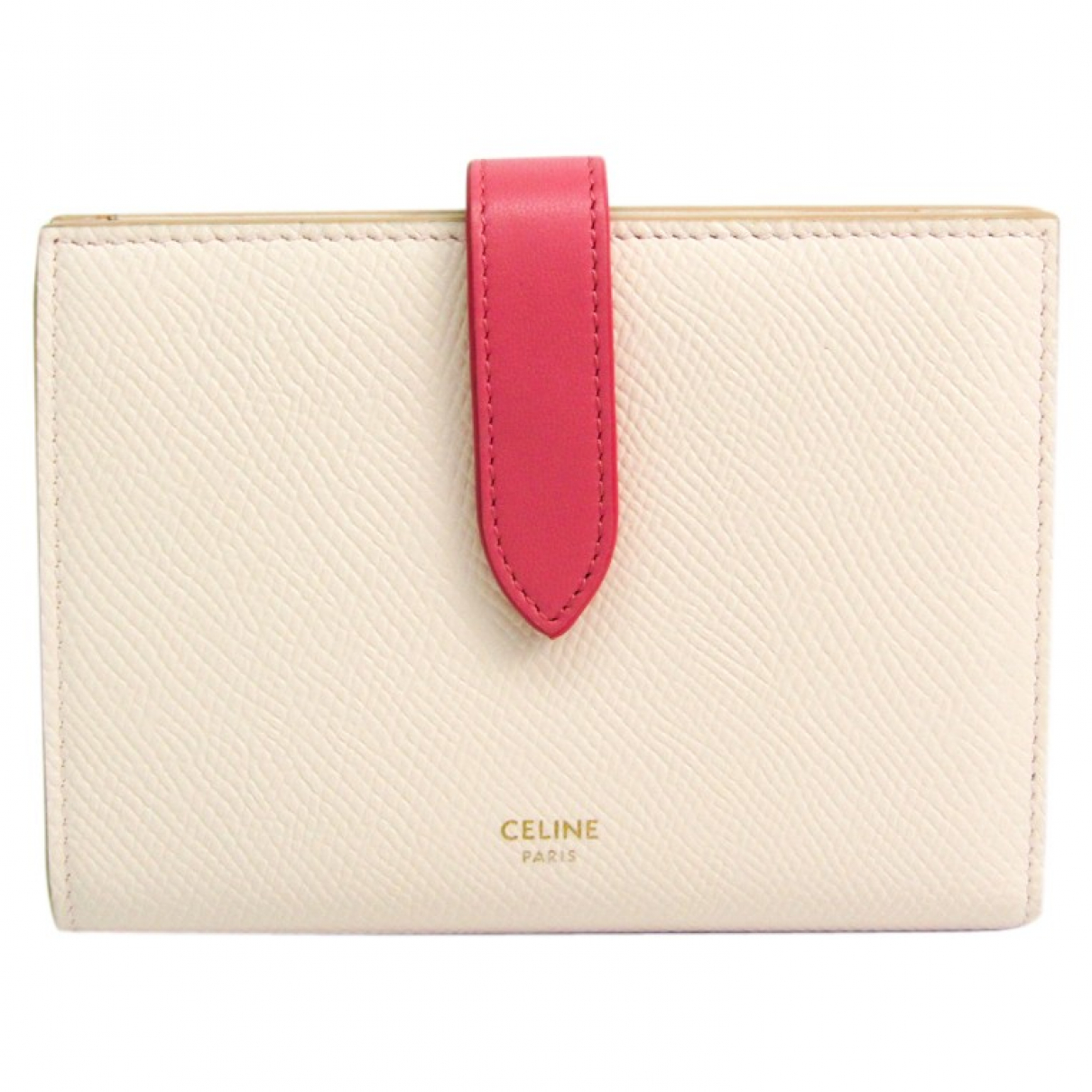 Celine N Pink Leather wallet for Women N