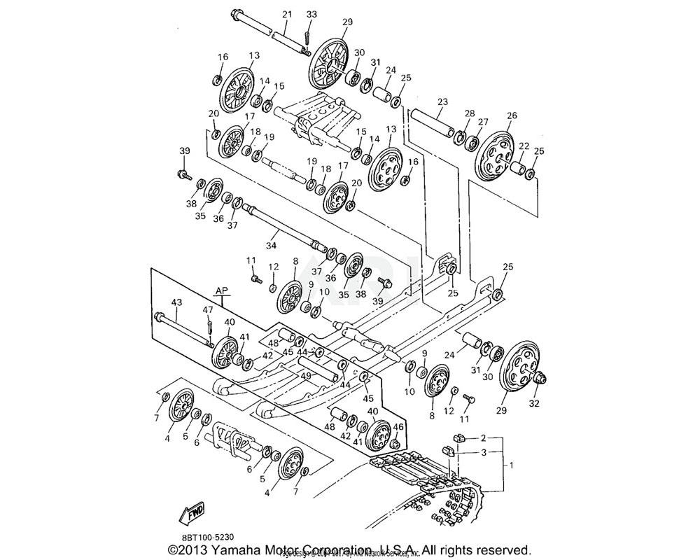 Yamaha OEM 90387-20023-00 COLLAR
