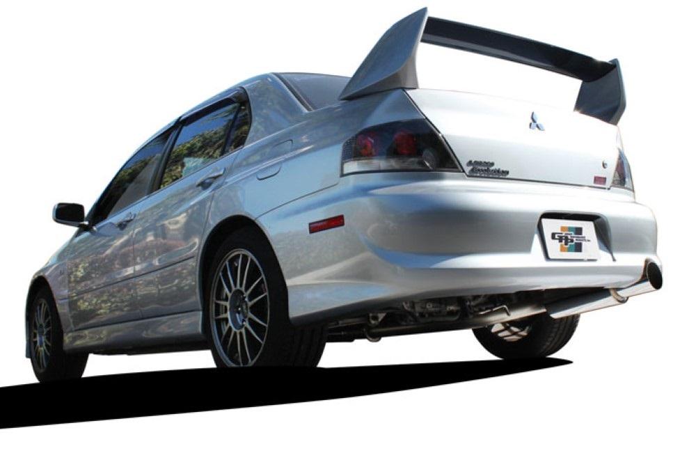 GReddy Revolution RS Exhaust (US Rear Bumper) Mitsubishi Evo 03-07