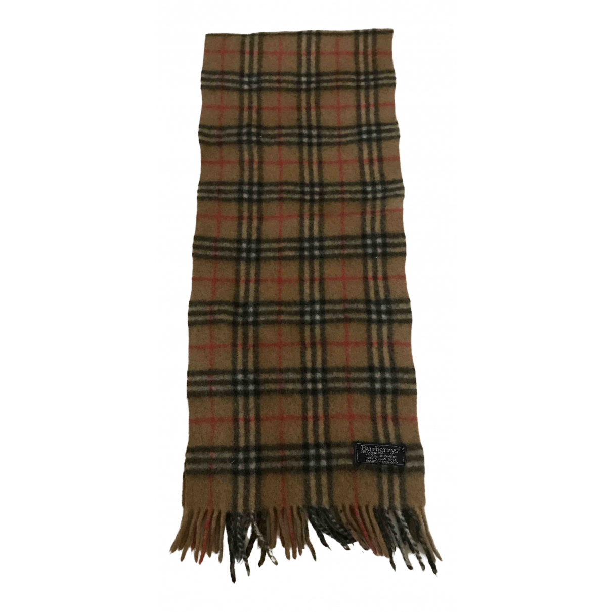 Burberry \N Camel Cashmere scarf for Kids \N