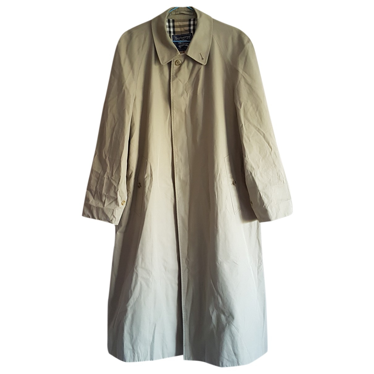 Burberry N Beige Cotton Trench coat for Women One Size International