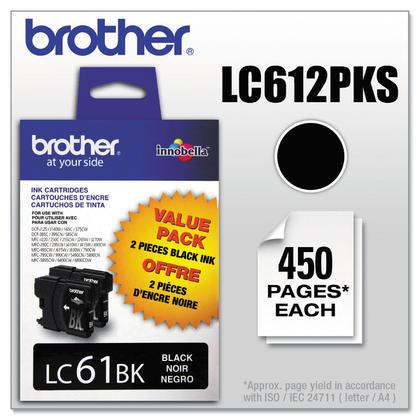Brother MFC-795CW originale noire cartouche d'encre, paquet double