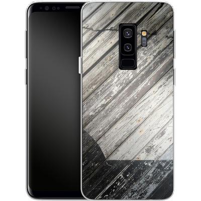 Samsung Galaxy S9 Plus Silikon Handyhuelle - Diagonal Wood von Brent Williams