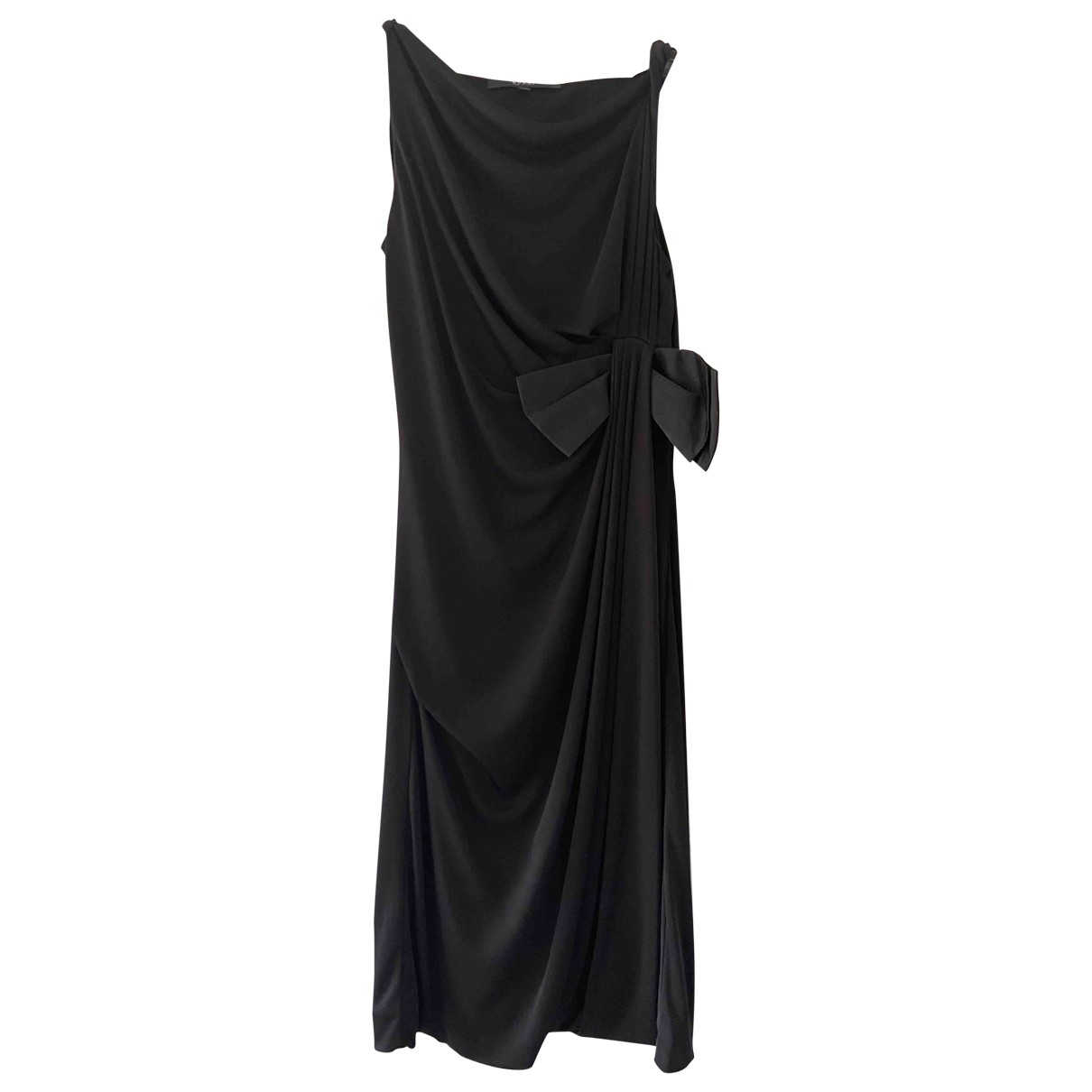 Gucci \N Kleid in  Schwarz Baumwolle