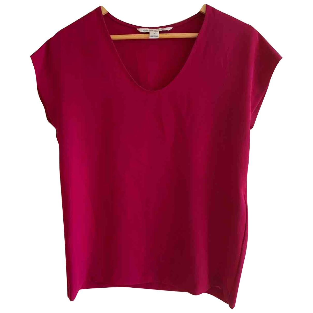 Diane Von Furstenberg \N Pink Cotton  top for Women S International
