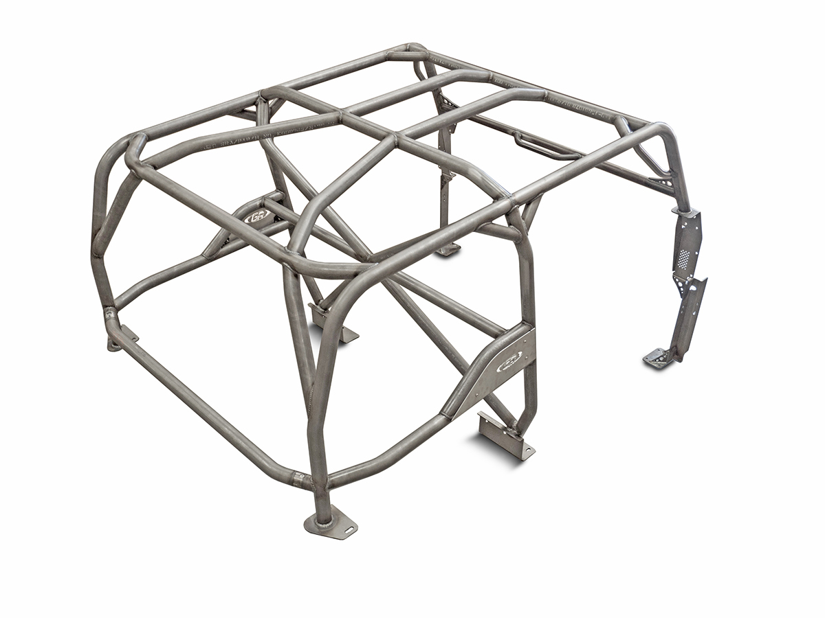 Jeep Roll Cage Kit Full Laser Notched 76-86 Jeep CJ-7 Steel Bare GenRight