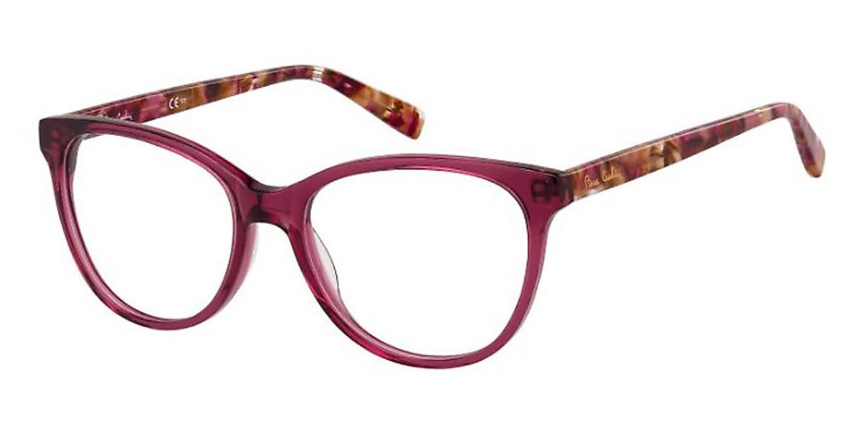 Pierre Cardin P.C. 8476 35J Women's Glasses Red Size 54 - Free Lenses - HSA/FSA Insurance - Blue Light Block Available