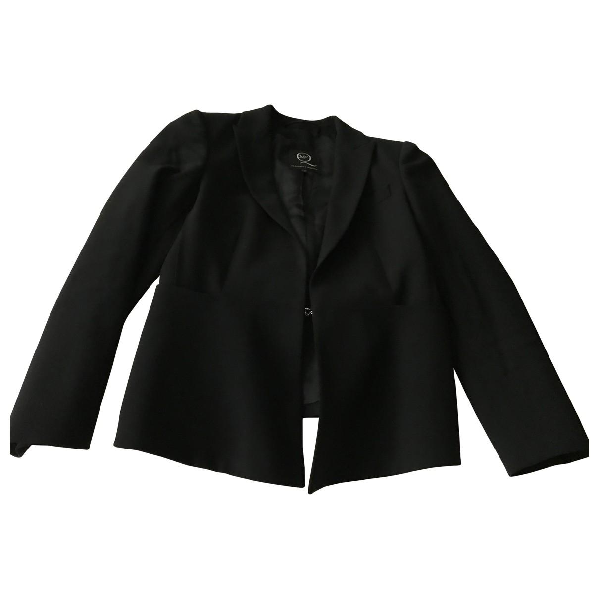 Mcq \N Black Wool jacket for Women 40 IT