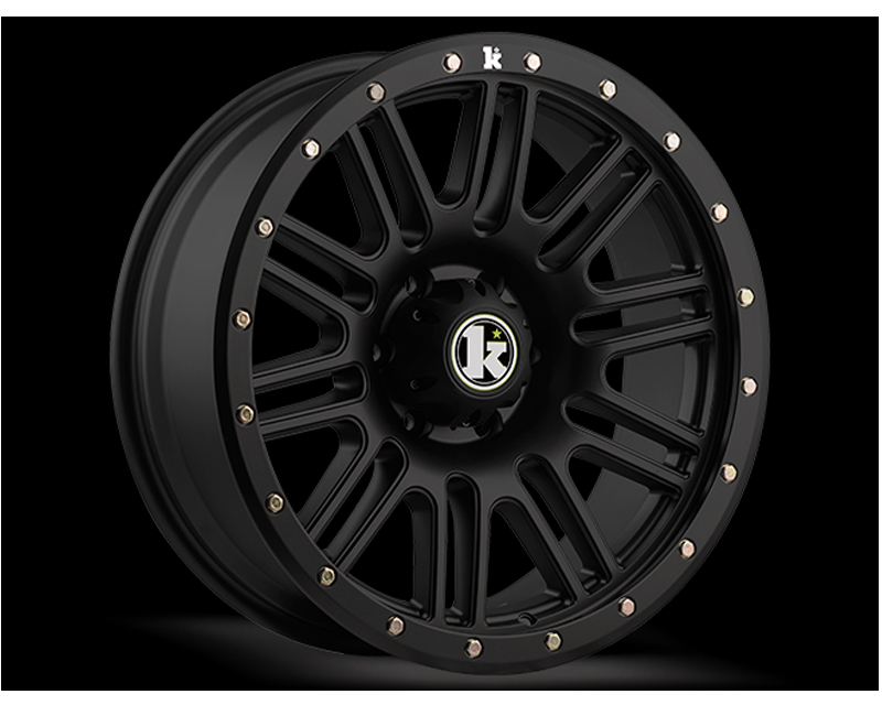 KLUTCH OFFRD KT01 Matte BLACK 17X9 8x165.1 -12mm