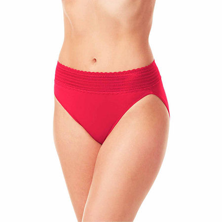 Warners Hipster Panty 5609j, Large , Red