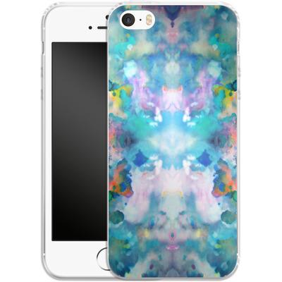 Apple iPhone 5 Silikon Handyhuelle - Paint Splatter von caseable Designs