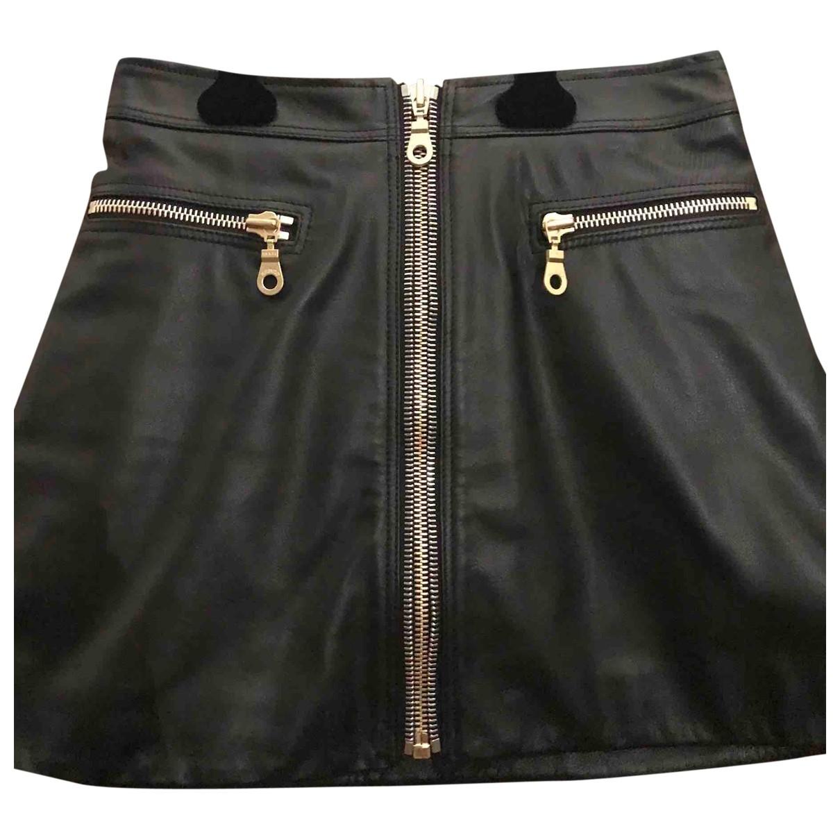 Mini falda de Cuero Kenzo