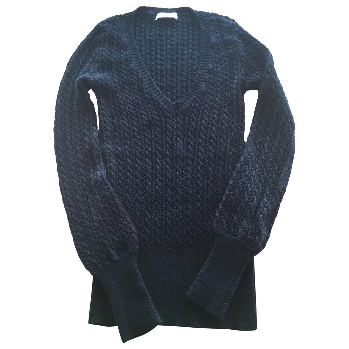 Bel Air - Pull   pour femme en laine - noir