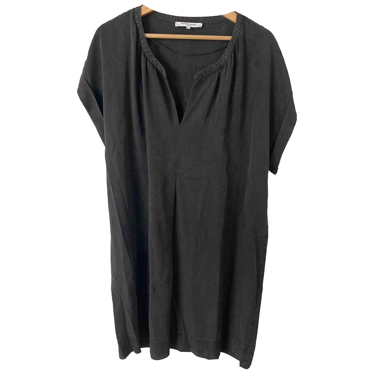 Gerard Darel N Anthracite Cotton dress for Women 46 FR