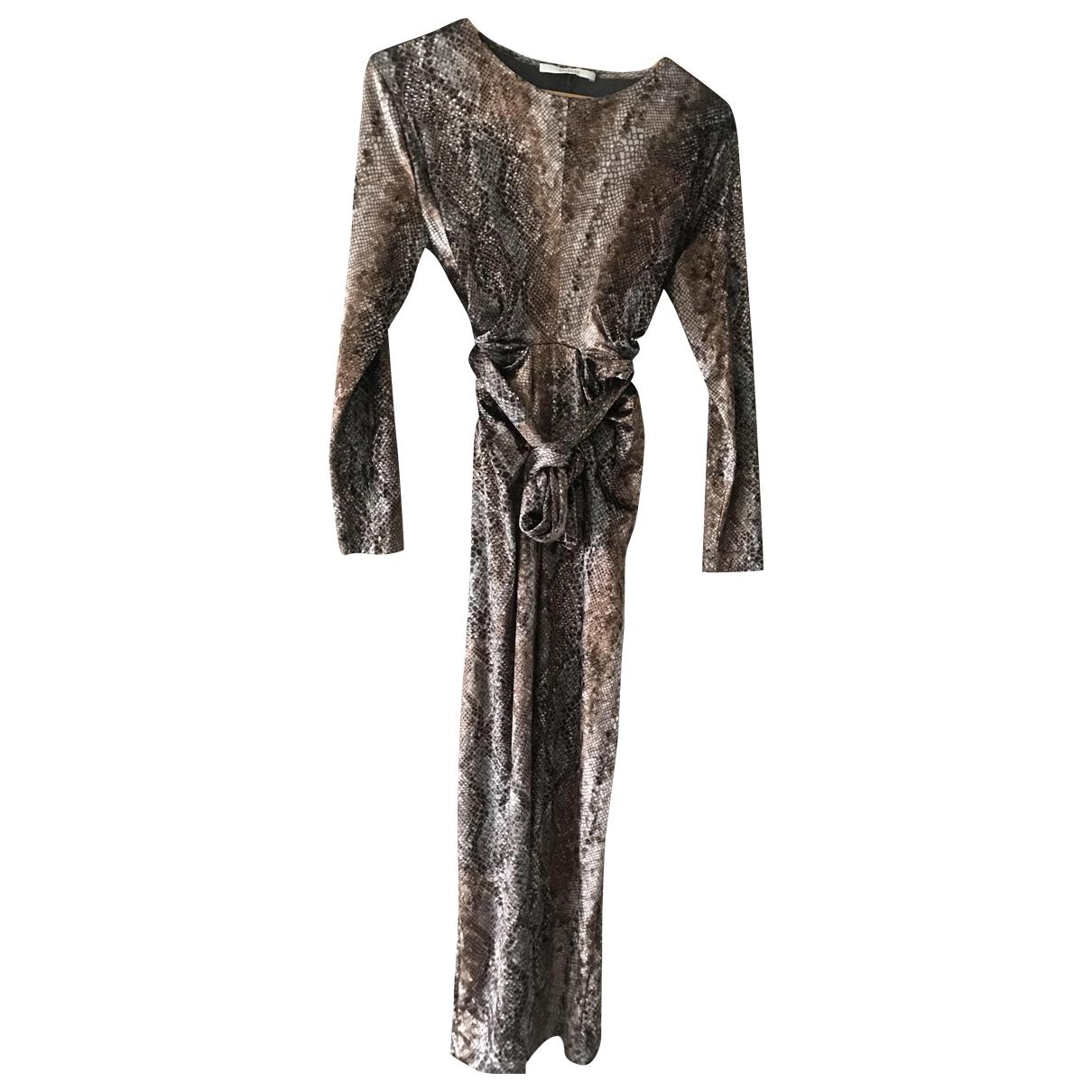 Uterque \N Kleid in  Braun Samt
