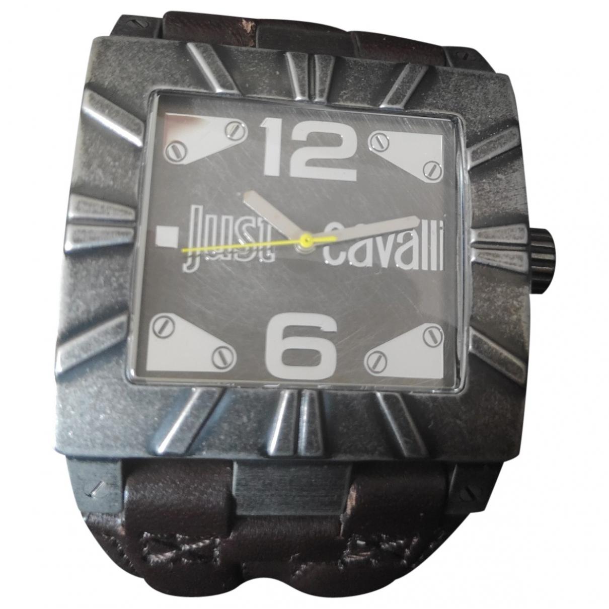 Just Cavalli - Montre   pour homme en acier - anthracite