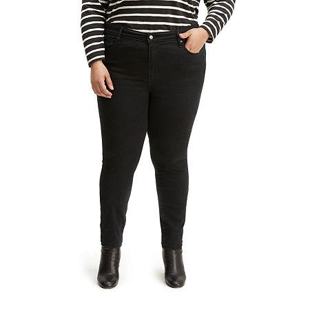 Levi's 721 High-Rise Skinny Jean - Plus, 20w , Black