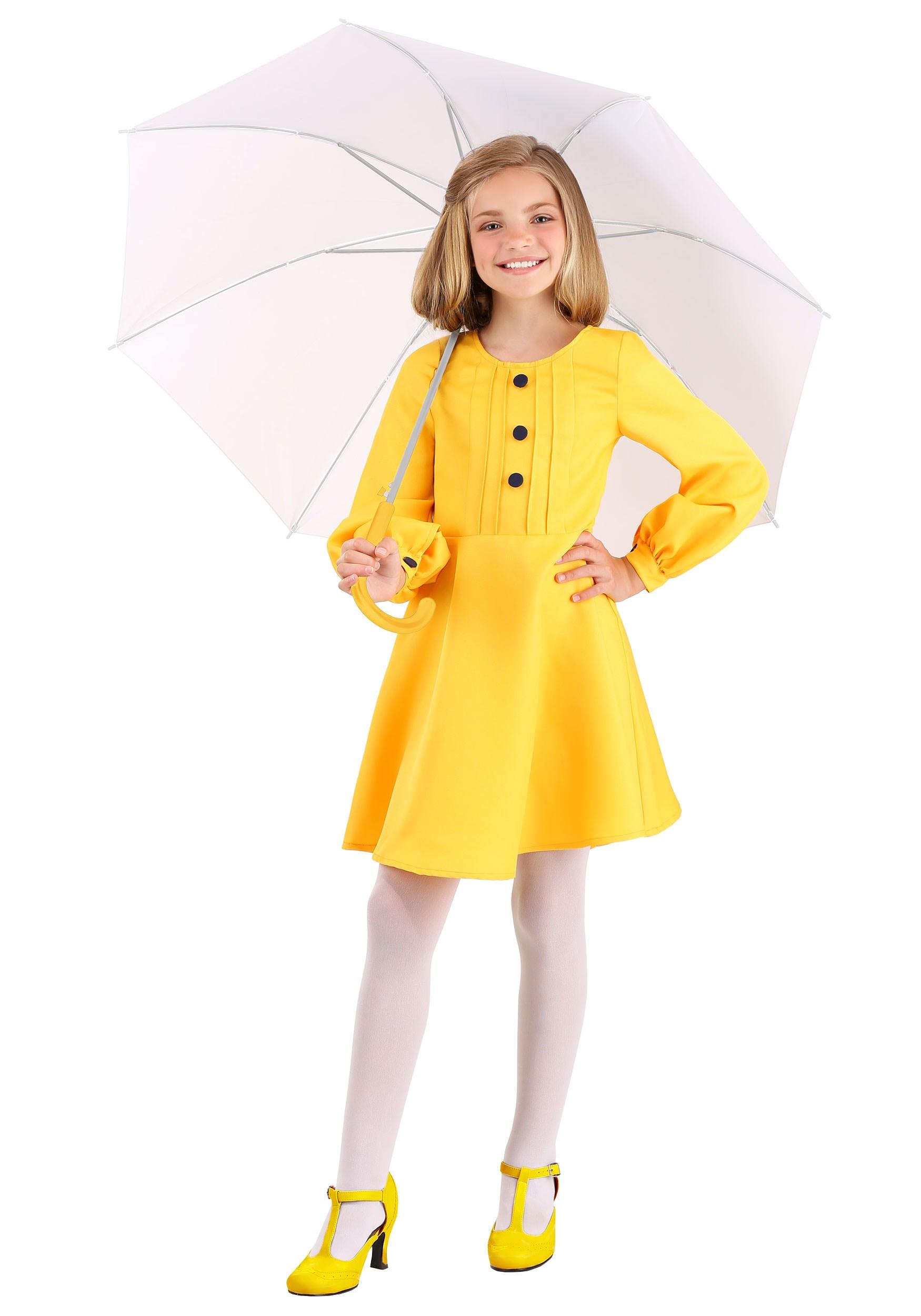 Morton Salt Girl Kids Costume