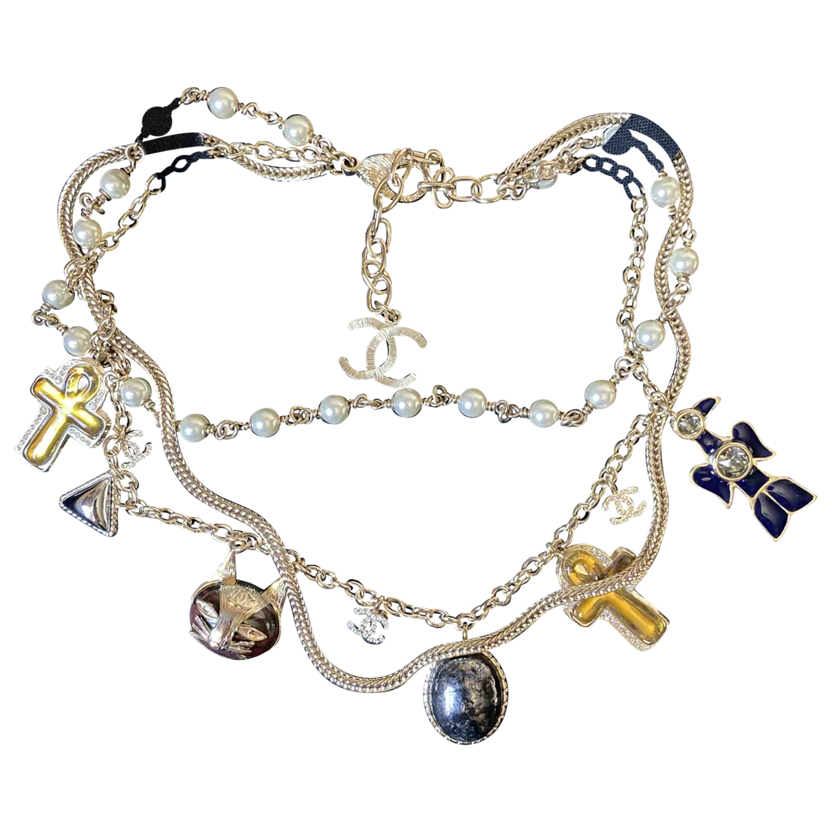 Chanel \N Multicolour Metal necklace for Women \N