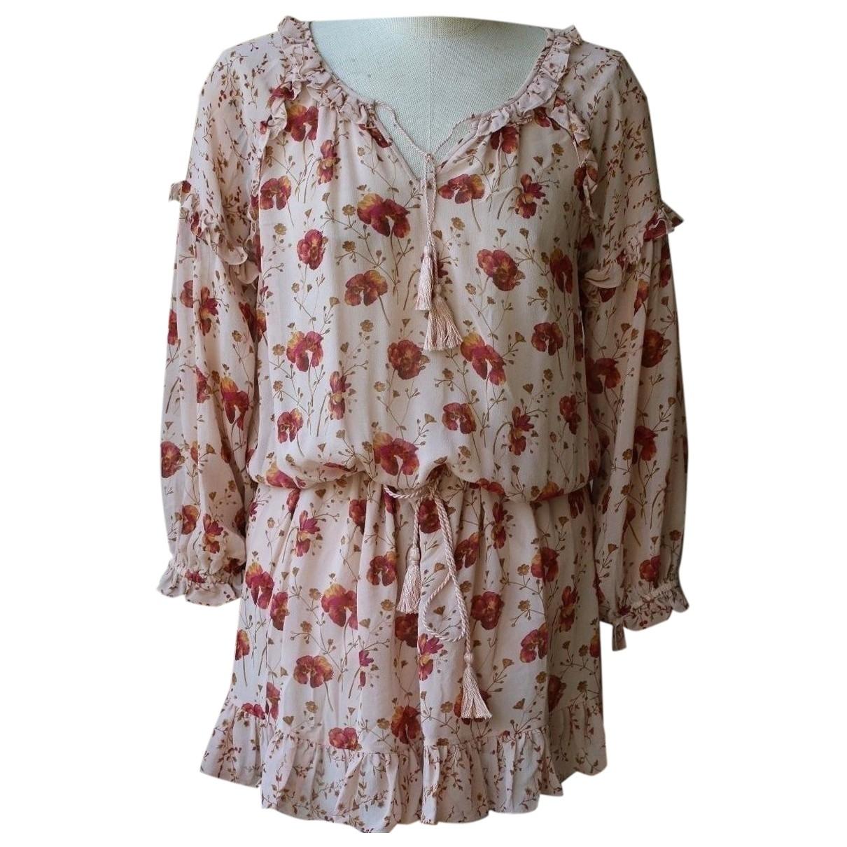 Ulla Johnson \N Kleid in  Rosa Seide