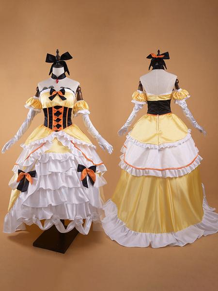 Milanoo Re Zero Starting Life In Another World Felt Queen Cosplay Costume