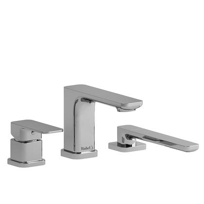Equinox TEQ10BN 3-Piece Deck Mount Tub Filler with Hand Shower Trim  in Brushed