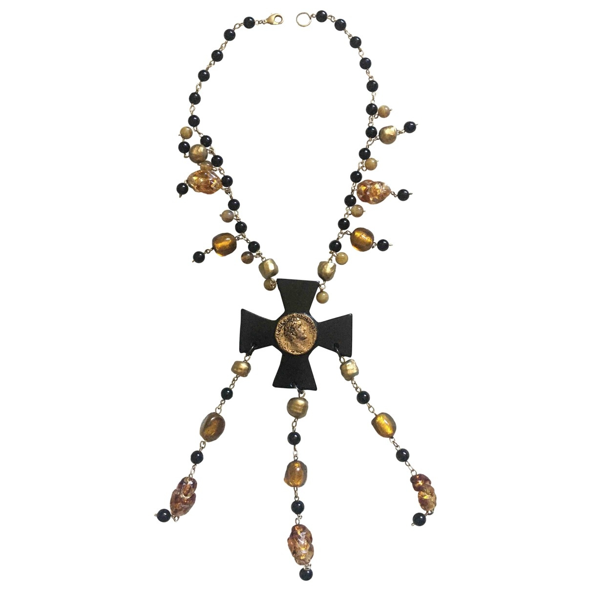 Collar Motifs Religieux Non Signe / Unsigned
