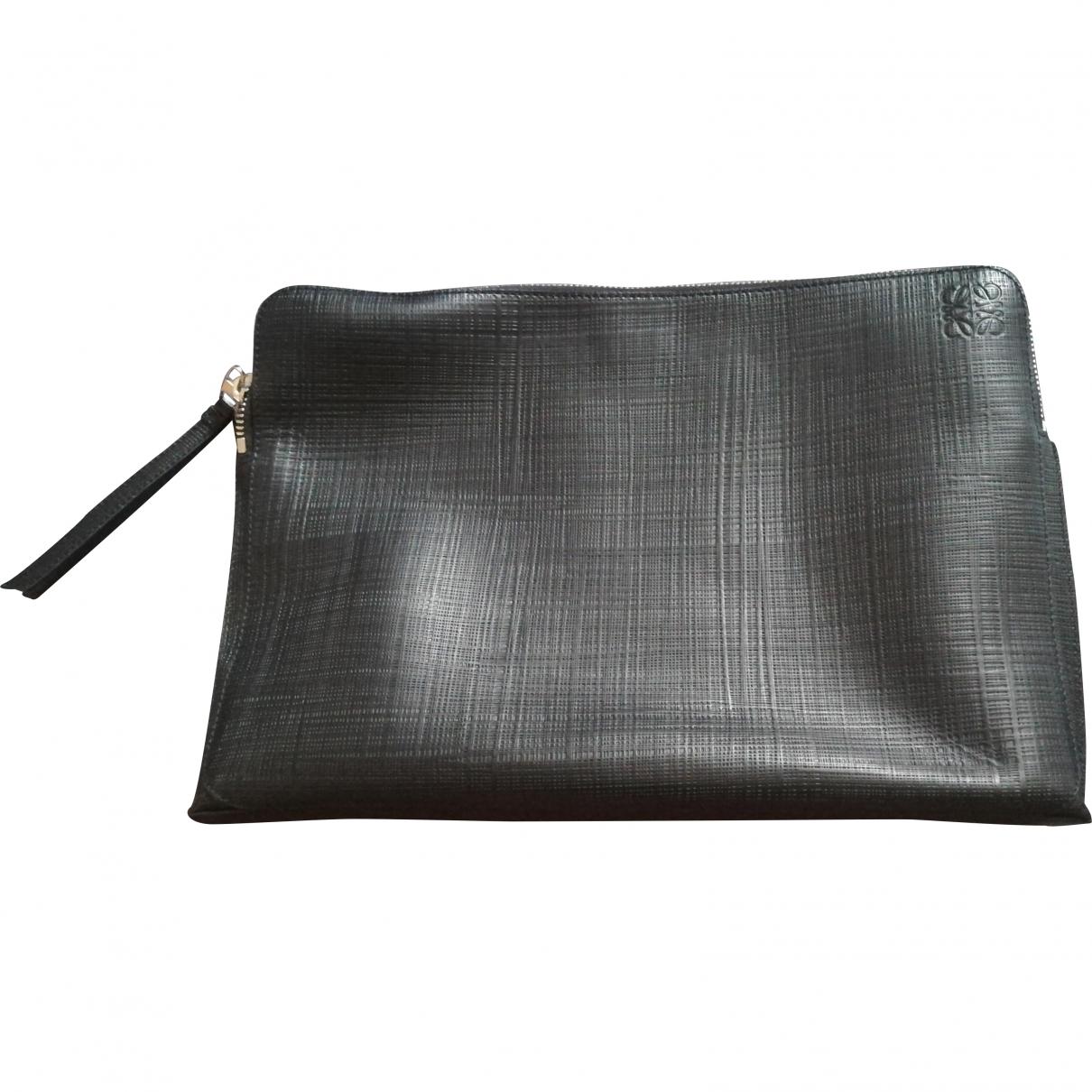Loewe - Petite maroquinerie   pour homme en cuir - noir