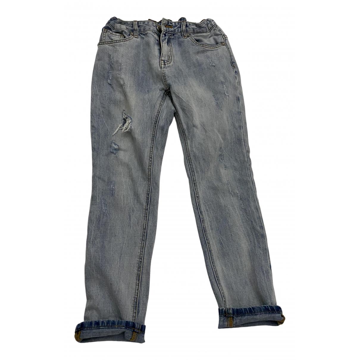 John Richmond N Blue Denim - Jeans Trousers for Kids 14 years - S UK