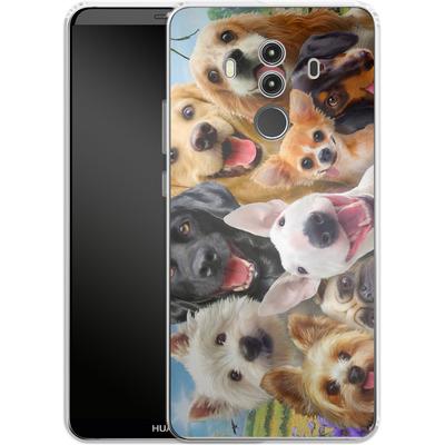 Huawei Mate 10 Pro Silikon Handyhuelle - Dogs Selfie von Howard Robinson