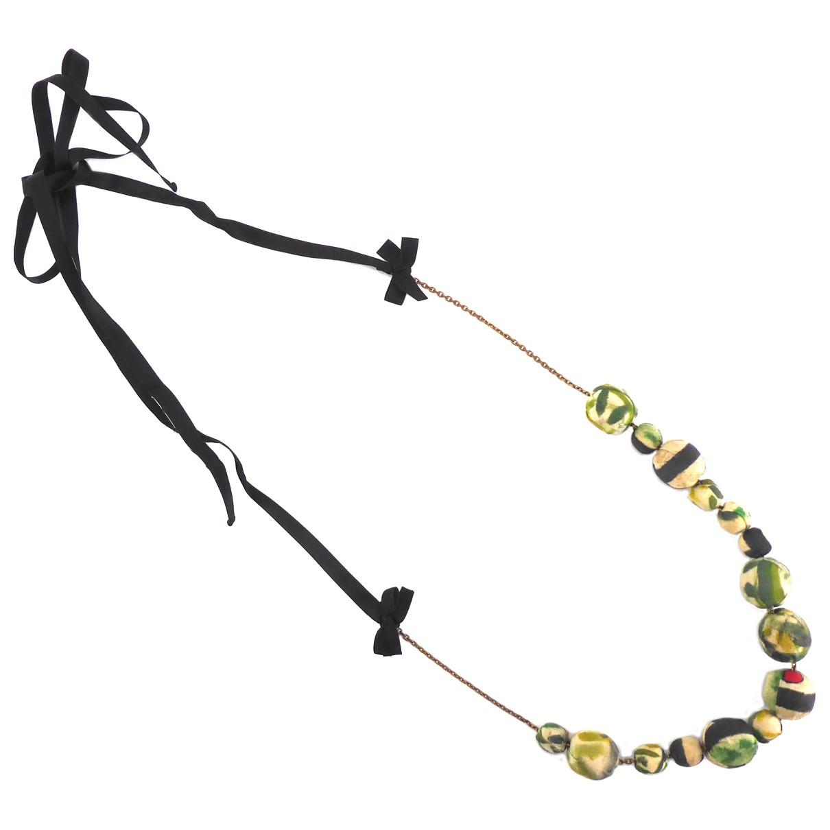 Marni \N Halskette in Leinen
