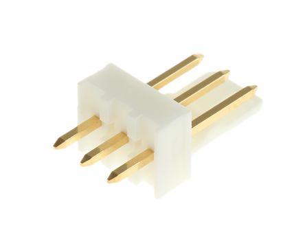 Molex , KK 254, 6410, 3 Way, 1 Row, Straight PCB Header (5)