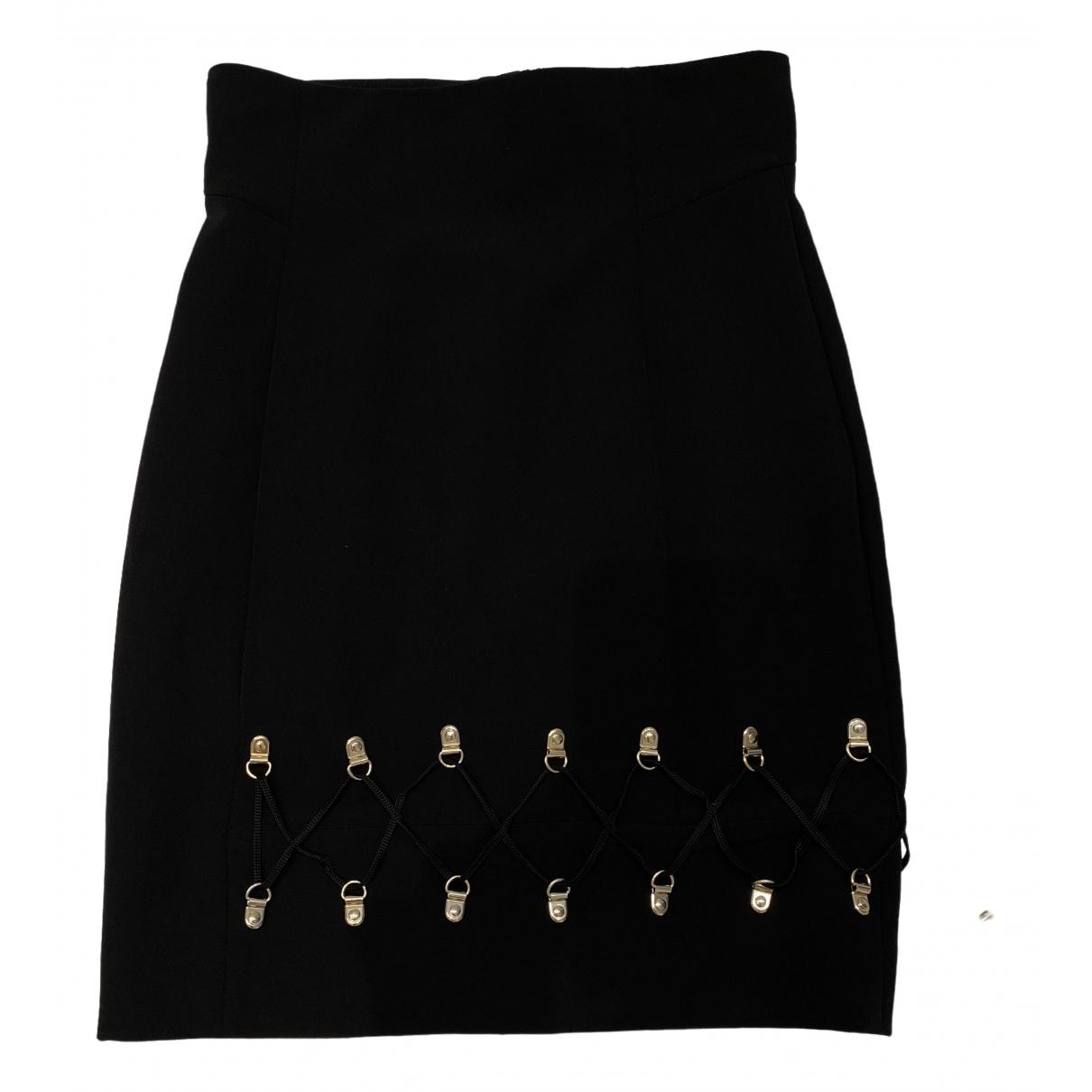 Versace \N Rocke in  Schwarz Baumwolle