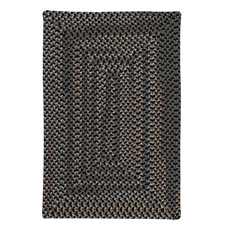 Colonial Mills Allentown Braided Rectangular Reversible Indoor Rugs, One Size , Gray