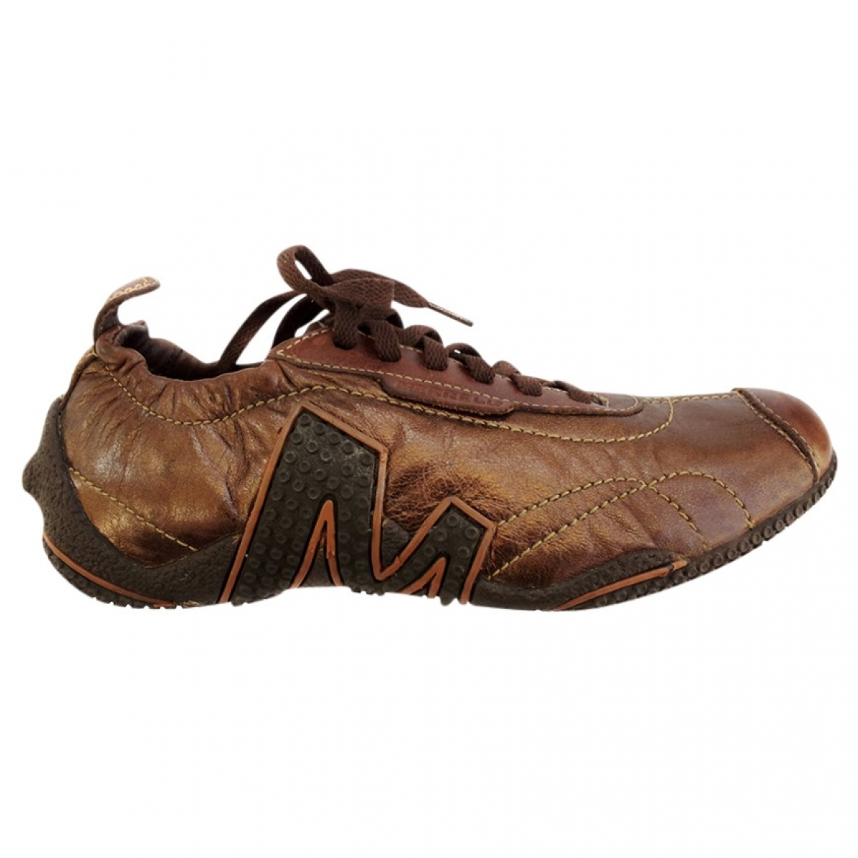 Merrell X Colette \N Brown Leather Trainers for Women 36 IT