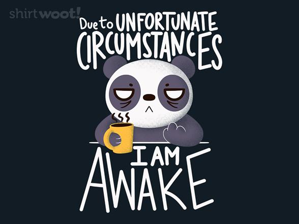 Morning Panda T Shirt