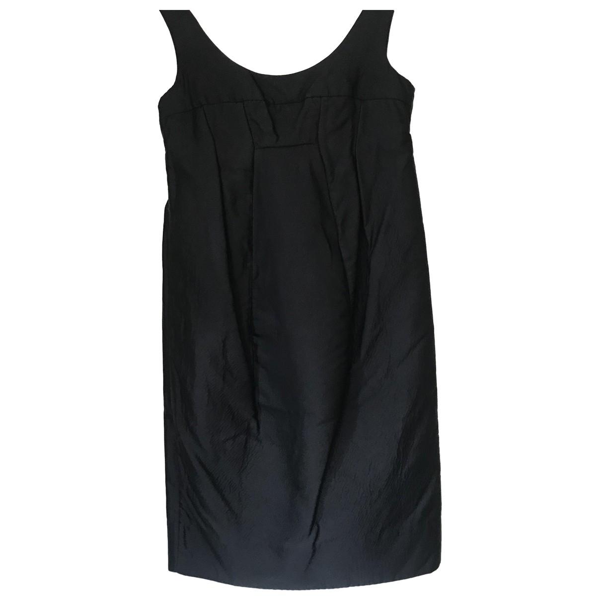 Marni - Robe   pour femme en coton - noir