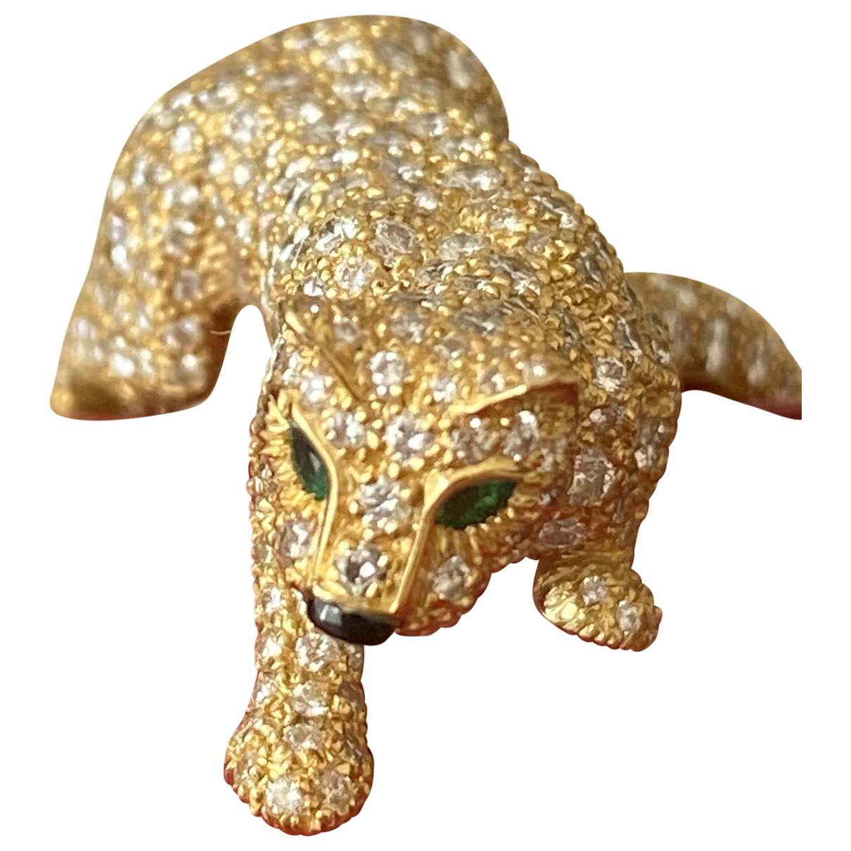 Anillo Panthere de Oro amarillo Cartier