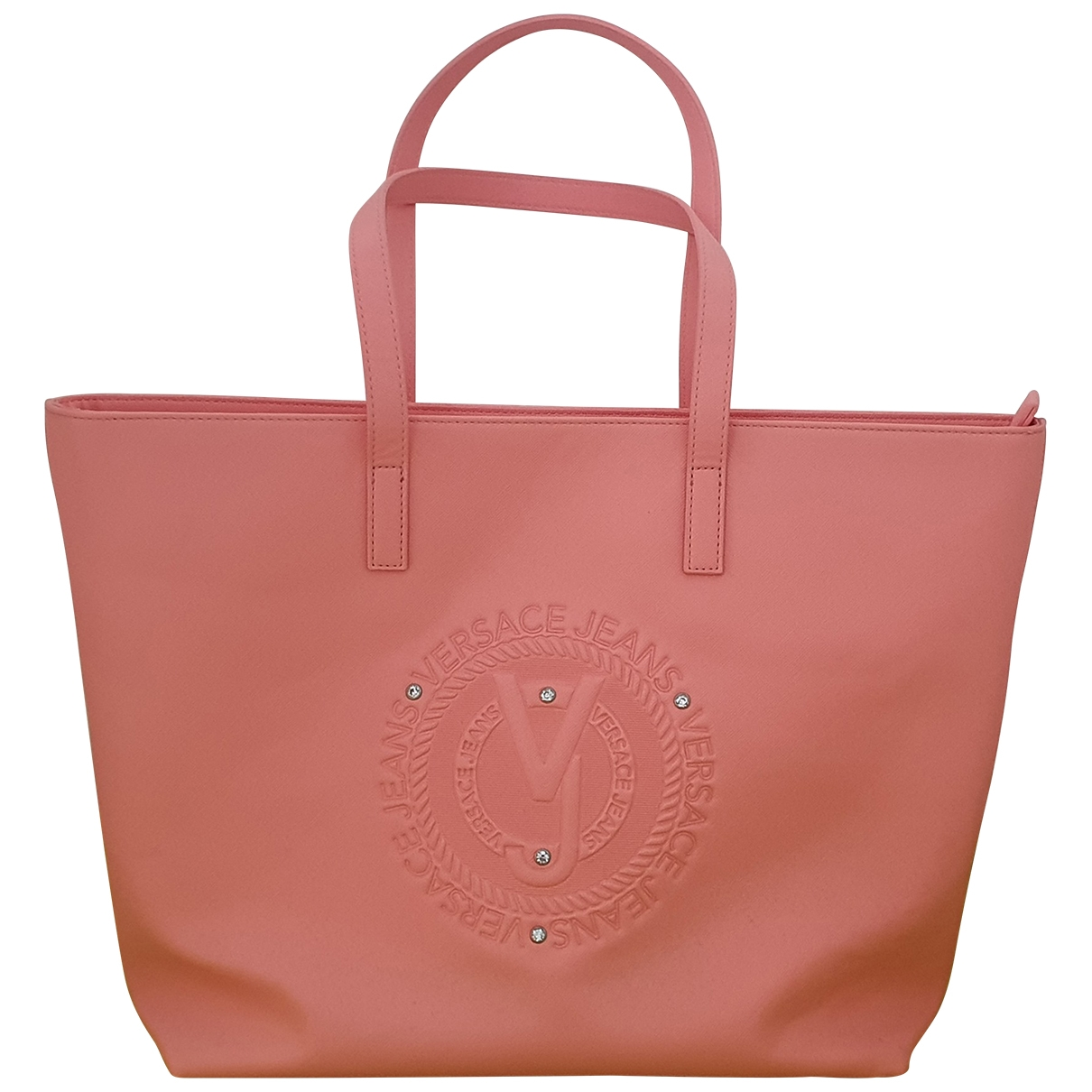 Versace Jeans \N Pink handbag for Women \N