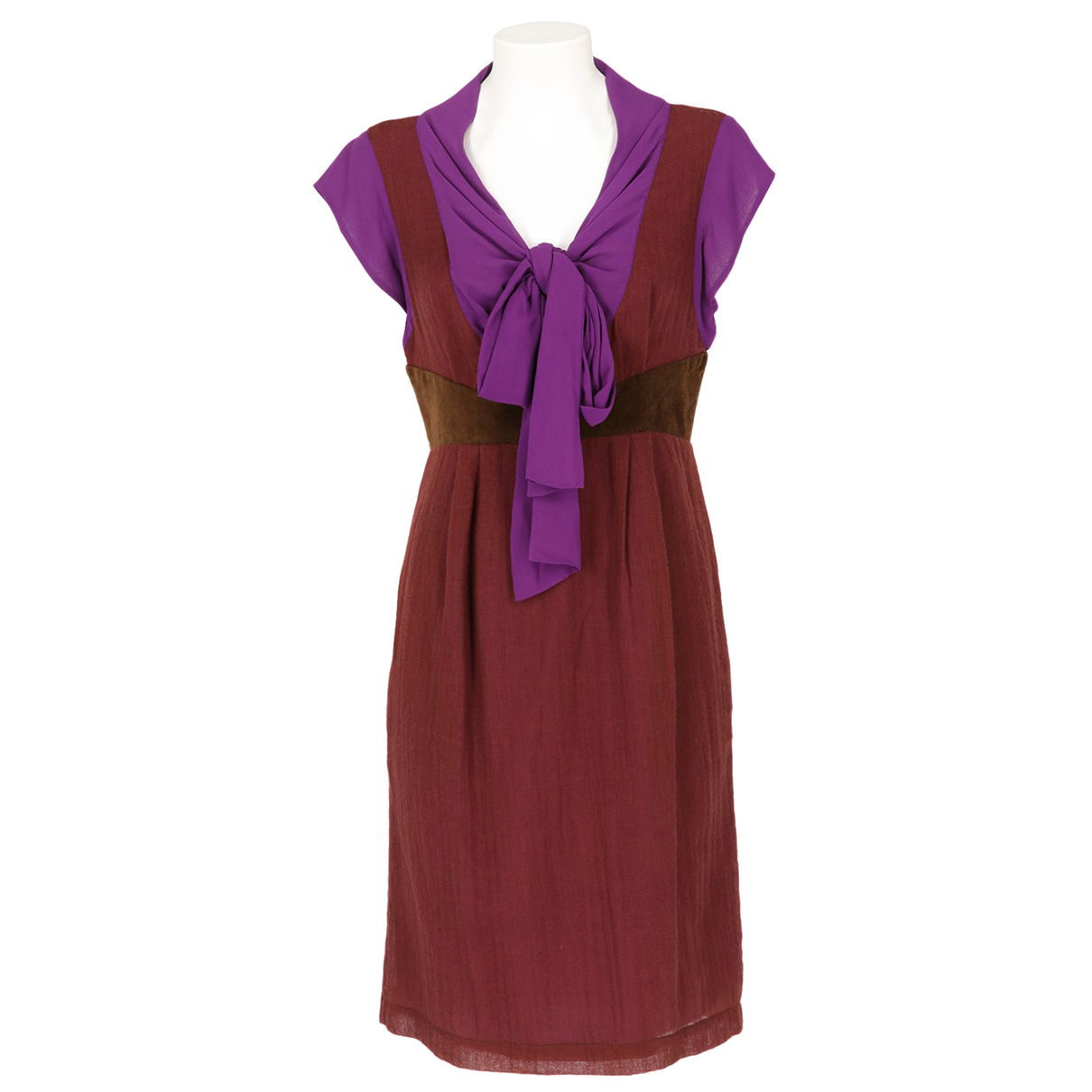 Kenzo \N Brown Cotton dress for Women 38 FR
