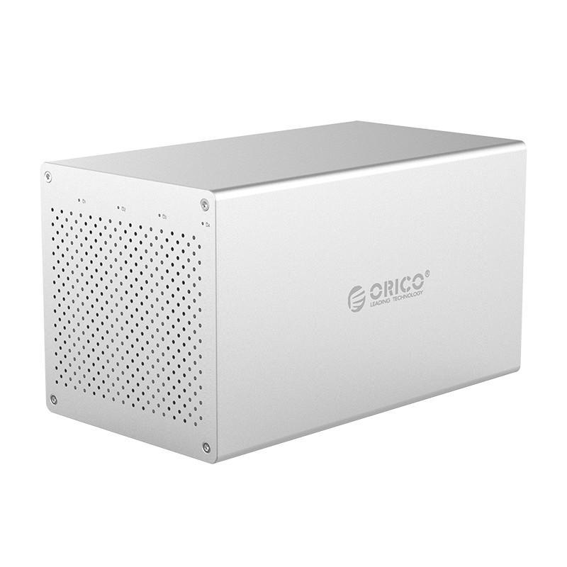 Orico WS400RU3 3.5 Inch 4 Bay USB 3.0 UASP Support RAID Hard Drive Enclosure Storage System