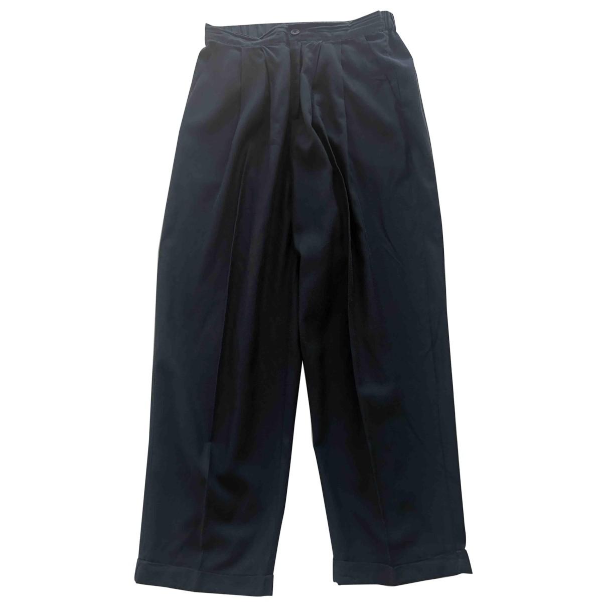 American Vintage \N Blue Trousers for Women S International