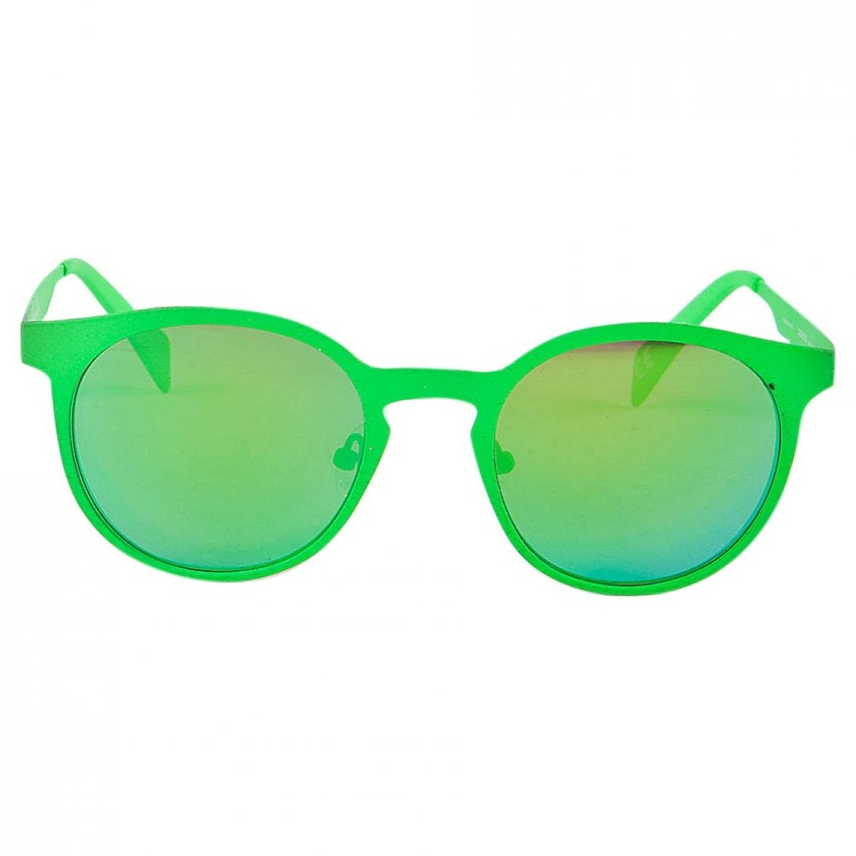 Italia Independent \N Green Metal Sunglasses for Women \N