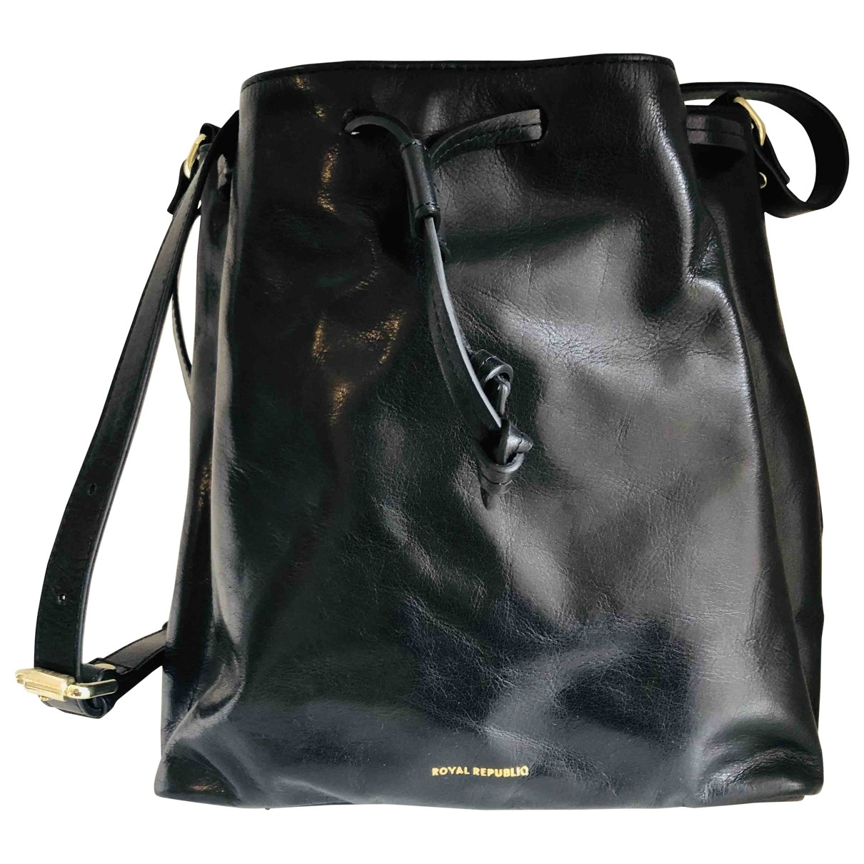 Royal Republiq \N Black Leather handbag for Women \N