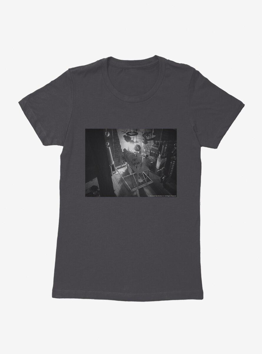 Frankenstein The Lab Womens T-Shirt