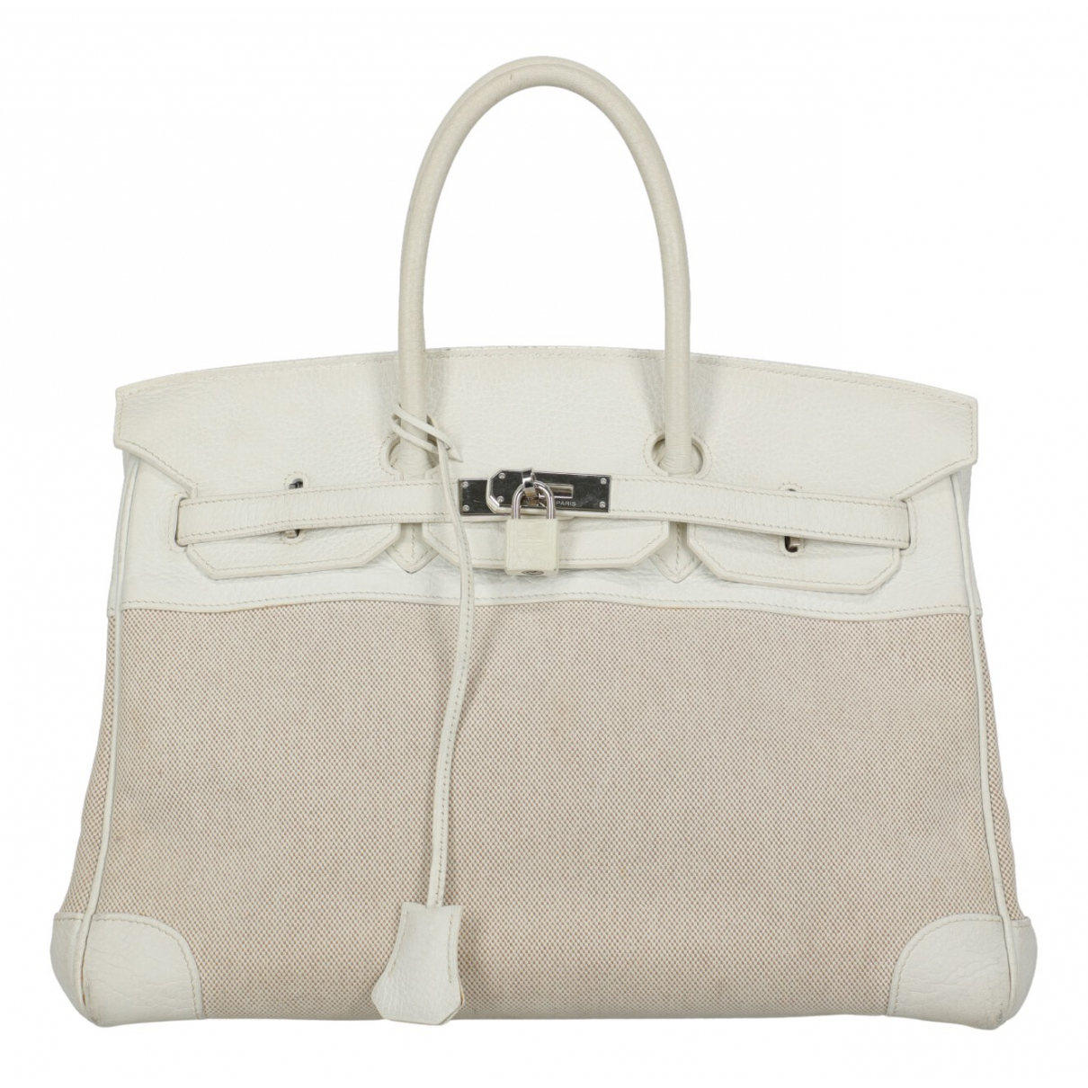Hermès Birkin 35 White Leather handbag for Women N